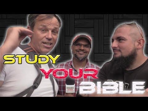 Speakers Corner !! Muhammad Tawheed & Hashim vs Howard (Study Your Bible)