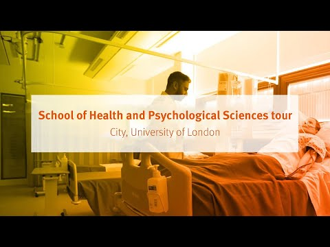 City, University of London: School of Health Sciences tour