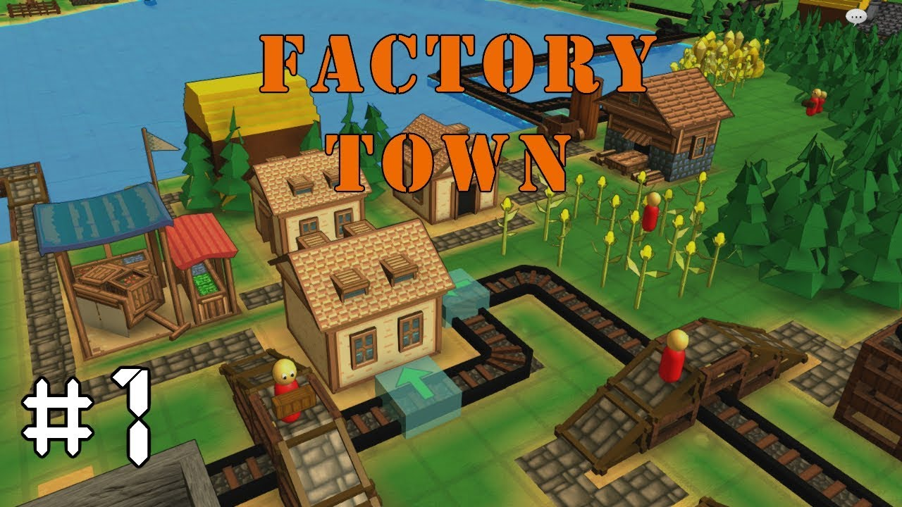 Download Factory Town EP1: FACTORIO STYLE TOWN BUILDER - Alpha Gameplay, Lets Play
