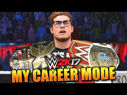WWE 2K17 MY CAREER MODE #11 'WE WANT ALL THE BELTS!'