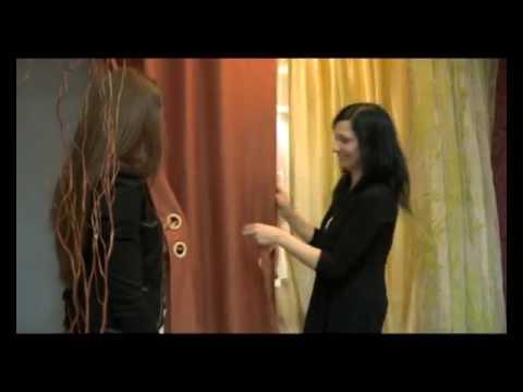 видео: Шторы на люверсах своими руками