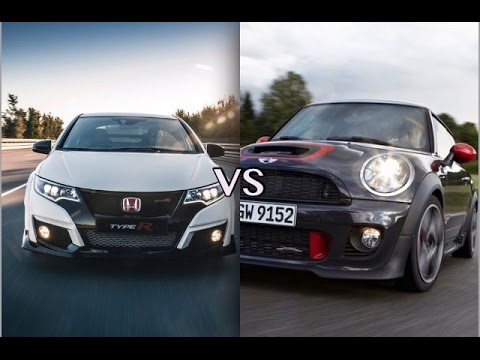 Hot Hatch Honda Civic Typer Vs Mini Cooper Gp Driveclub 1