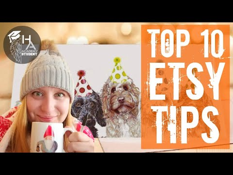"""Top 10 Etsy Success Tips from Handmade Alpha Academy's """"Alpha of the Year"""", Amber Marie!"""