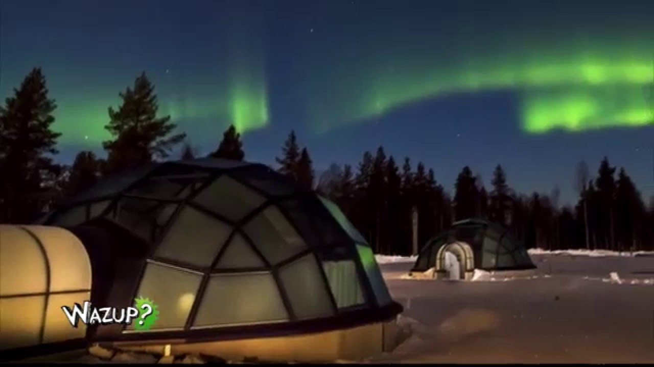 une nuit dans un h tel igloo wazup une mission gulli youtube. Black Bedroom Furniture Sets. Home Design Ideas