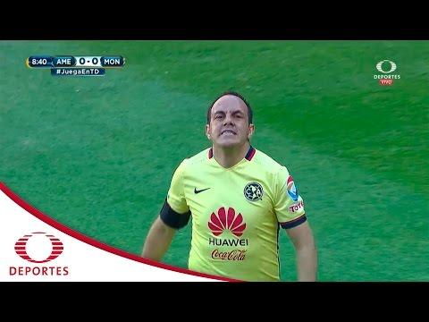 Tiro al poste de Blanco | América vs Morelia | Cl 2016 | Televisa Deportes