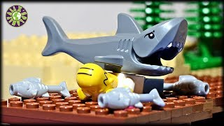 Lego Simpsons Fishing. How to catch a shark?
