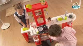 SMOBY 24553  Loft kuchynka elektrická červená 4 v