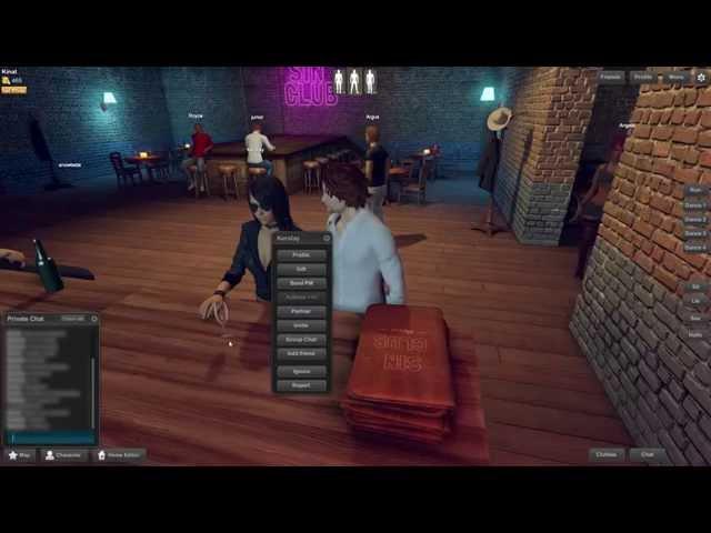 Игра 3DXChat  Виртуальный СЕКС онлайн  Обзор  Игра 18+