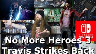 No More Heroes 3 Travis Strikes Back Trailer Reaction for Nintendo Switch - AlphaOmegaSin