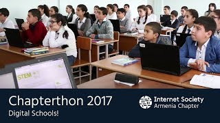 Chapterthon 2017 - E-learning technologies for more efficient STEM education