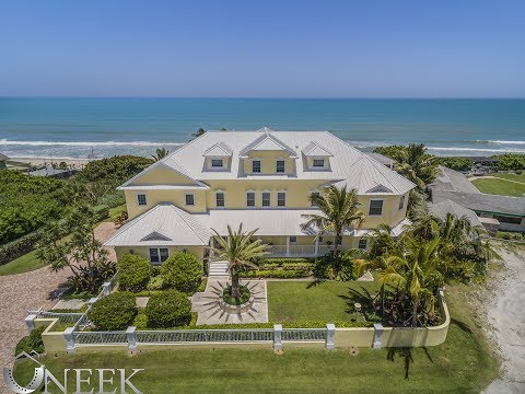 $4M Ocean front home with indoor swimming pool.
