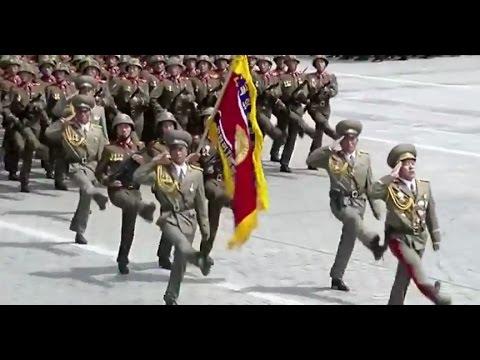 North Korea Military Parade April 15, 2017 (KCTV Live)