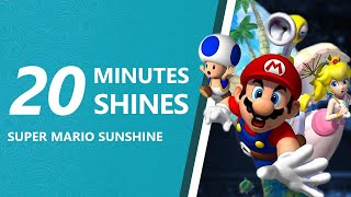 How To Collect 20 Shine Sprites In 20 Minutes