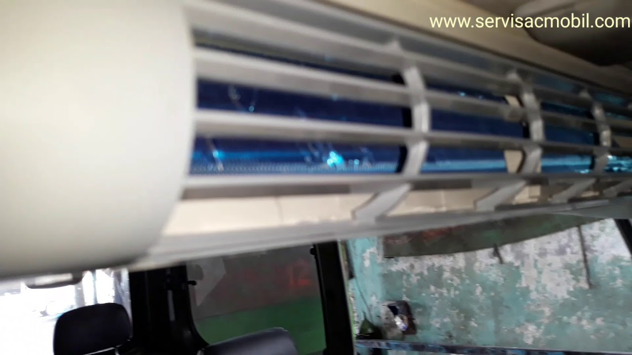 Pemasangan Double Blower Ac Mobil Kijang Kapsul Youtube