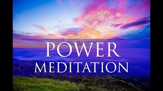 Morning Power Meditation For Grounding: Healing & Raising Positive Vibrations Theta Binaural Beats