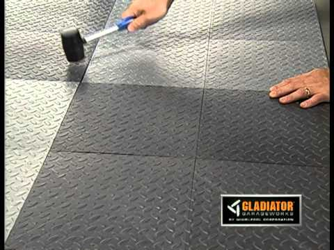 Gladiator 174 Tile Floor Covering Youtube