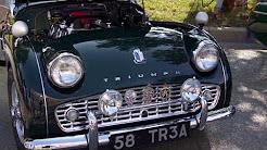 Classic Auto Insurance Video - 1958 Triumph TR3A - 2017 Carmel Artomobilia