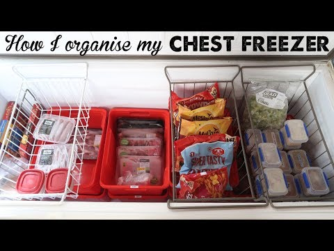 How I Organise My Chest Freezer | A Thousand Words