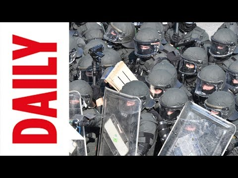 Kein Ende der G20-Krawalle: Polizei rüstet sich mit weiteren Hundertschaften / BILD DAILY 7.7.17