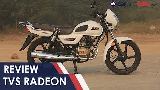 TVS Radeon Review   NDTV carandbike