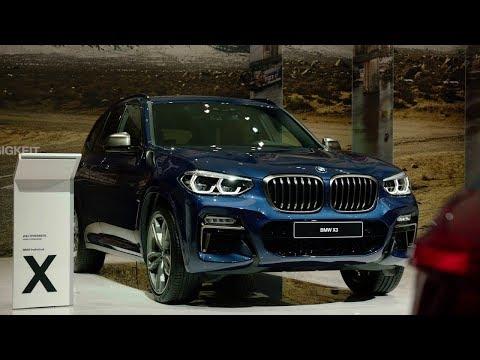 REPORT: BMW X3 2018 Frankfurt Auto Show