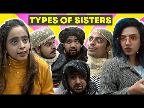 Types Of Sisters || Unique MicroFilms || Dablewtee || Comedy Skit