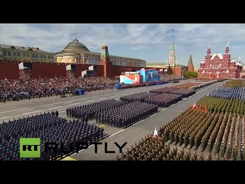 LIVE: Moscow hosts V-Day Parade - ENGLISH
