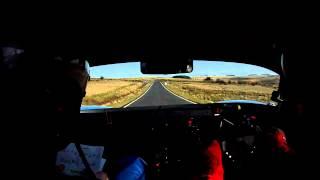 Tour of Epynt - Mark Straker Darrian GTR In Car - Stage 4