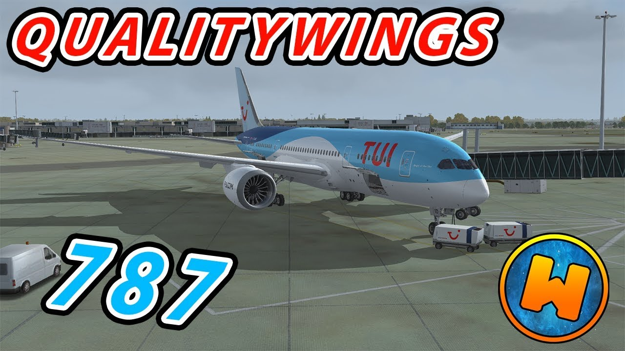 Qw 787 Tui Livery