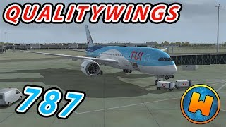 [FSX] Qualitywings 787 Gatwick to Malaga [Pre-flight and Departure]