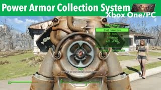 Fallout 4 Xbox One/PC Mods|Power Armor Collection System -