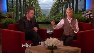 Matthew Perry's peach joke on Ellen!