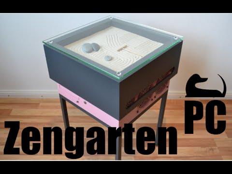 Zengarten PC Computer modding Gehäuse selber bauen Holz Stahl Zen DIY