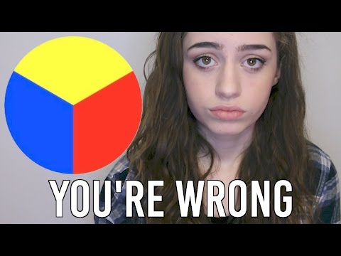 These are NOT the primary colors.