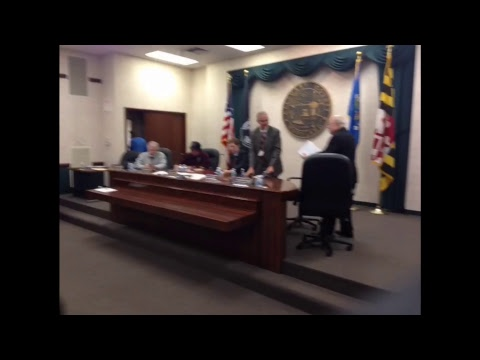 Allegany County Board of County Commissioners - November 9, 2017 Public Meeting