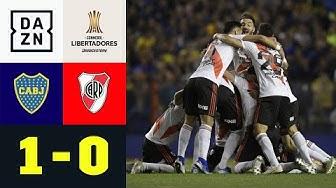 River verliert und zieht Finalticket: Boca Juniors - River Plate 1:0 | Copa Libertadores | DAZN
