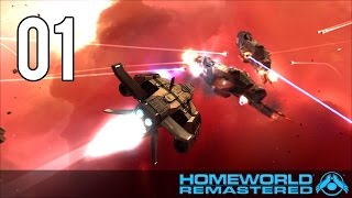 "Homeworld Remastered Walkthrough Gameplay - Part 1 ""Mission 1"" PC"