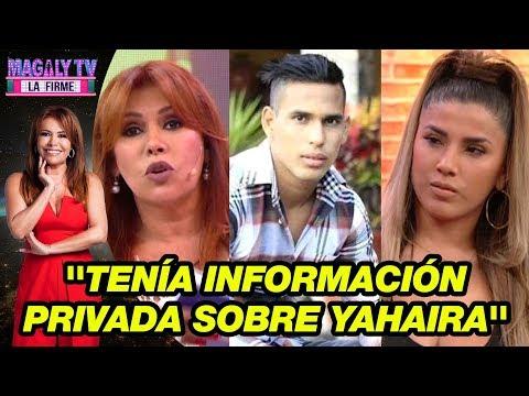 Magaly Medina confiesa en vivo que tenía información privada sobre Jerson Reyes y Yahaira Plasencia