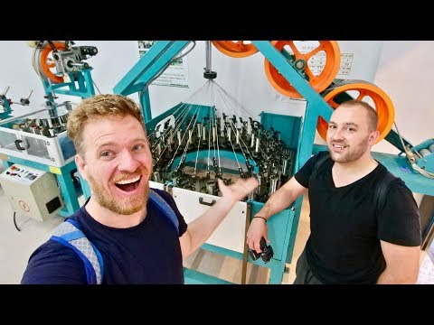 Inside A Chinese Factory Machines Market & Giveaway Winners!