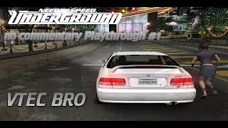 Need for speed underground Walkthrough part 1 (no commentary)