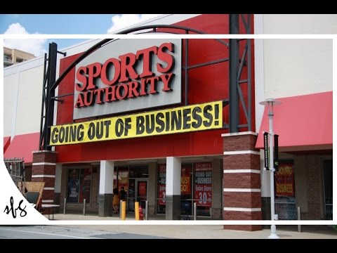 SPORTS AUTHORITY GOING OUT OF BUSINESS SALE
