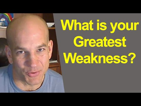 How To Answer Weakness In Interview Question