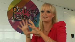 Emma Bunton on Don't Stop Believing