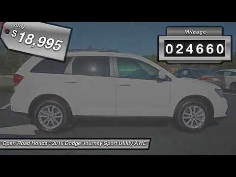2016 Dodge Journey Edison NJ 114159B. Open Road Honda