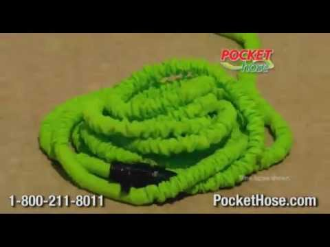 Pocket Hose As Seen On TV Expanding Hose YouTube