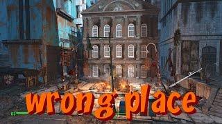 Fallout 4 16 плохой раён ЛАГАЕТ