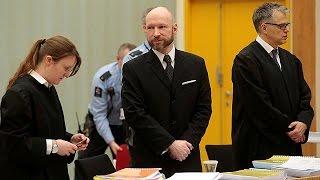"""Breivik im Berufungsprozess: """"Entschuldigung"""", aber keine Reue"""