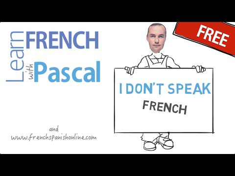how to say i don 39 t speak french youtube. Black Bedroom Furniture Sets. Home Design Ideas