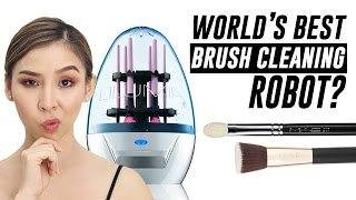 Lilumia 2 Brush Cleaning Robot- Does it work? | TINA TRIES IT