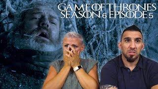 Game of Thrones Season 6 Episode 5 'The Door' REACTION!!